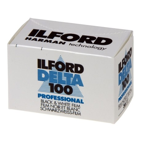 Ilford Delta 100 35mm Cassette Film - 36