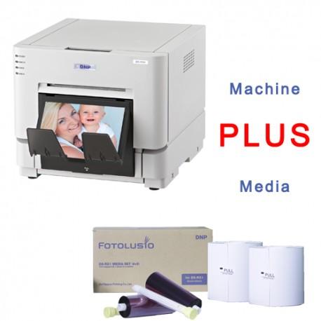DNP DS RX1 Printer PLUS 4 x 6 Media Bunble