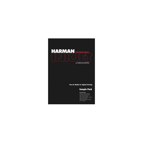 Harman by Hahnemuhle Sample Pack A4| Fine Art Media | Photo Supplies