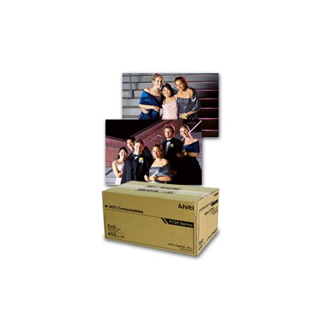 HiTi P720L 6 x 9 Ribbon & Paper Case