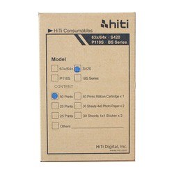 "HiTi S420 50 Pack 4"" x 6"" Sheets + Ribbon"