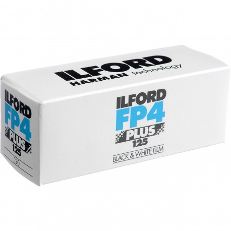 Ilford FP 4 Plus 35mm 120 roll film