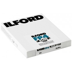 Ilford FP 4 Plus Sheet Film 10.2cm x 12.7cm - 25 sheets